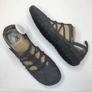 JBU By Jambu Juliet charcoal Mary Jane sandals NIB